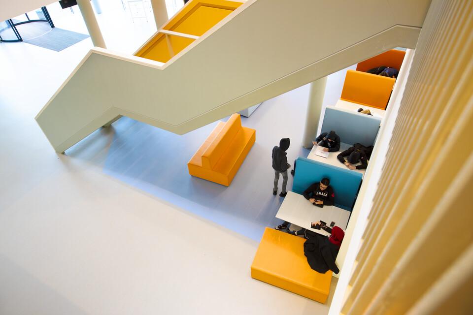 Gispen education project VOLT  in Vleuten 00A7117