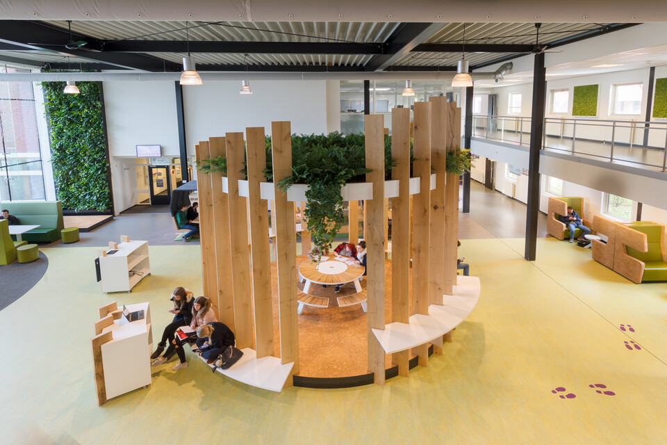 Gispen education project Fontys Campus in Venlo 00A7810 29