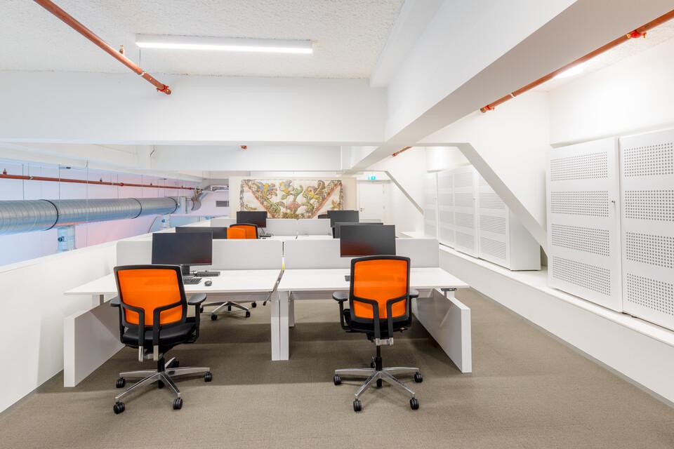 Gispen office project Utrecht Library in Utrecht 00A4285