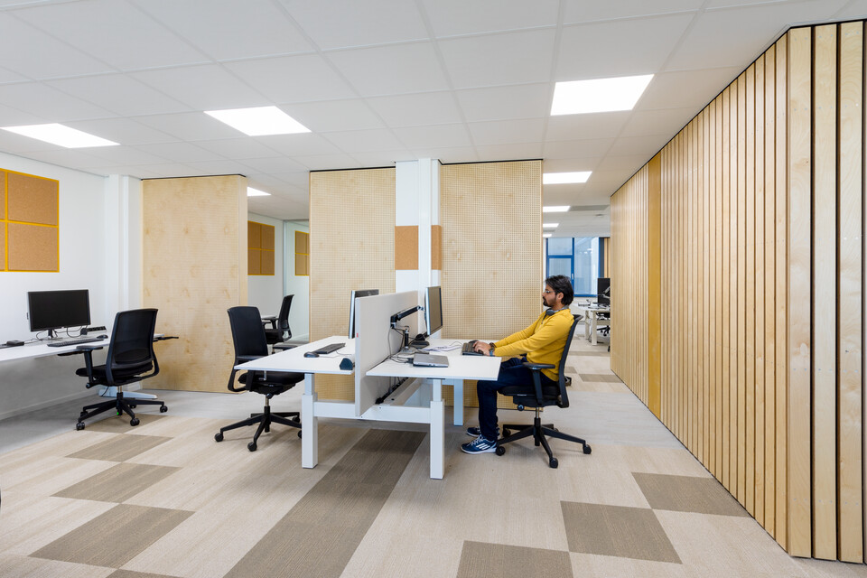 Gispen office project Medecins Sans Frontieress in Amsterdam 00A2176