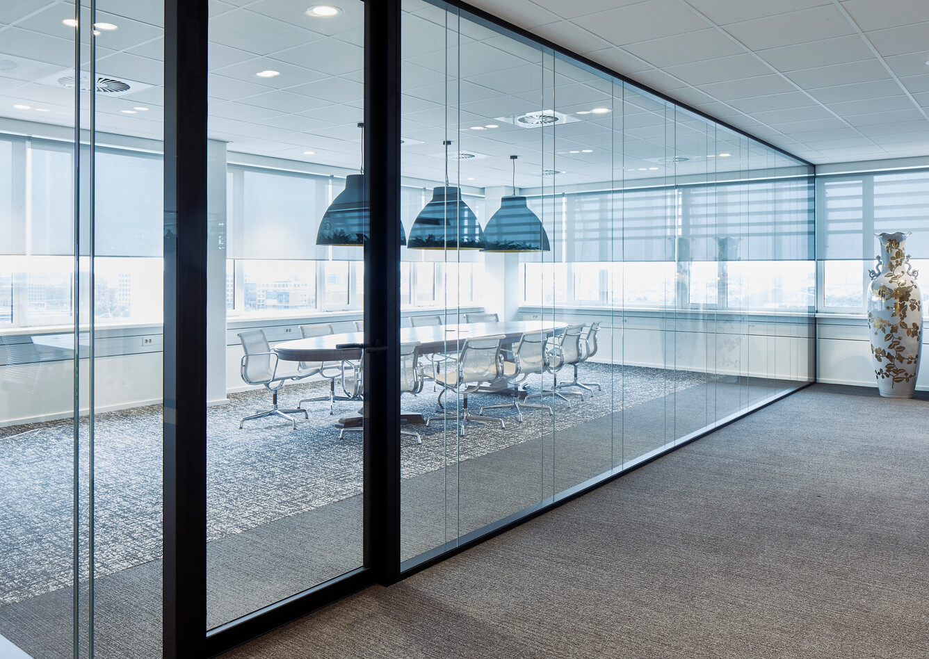 Royal Ahrend office project interior view of BDO in The Hague MR0112638