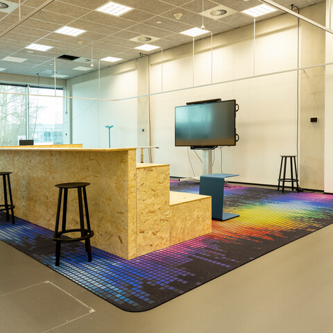 Gispen education project Fontys academy for creative industries in Tilburg L0A0074