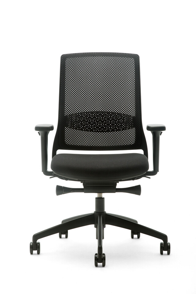 Gispen Zinn Smart 35BK office chair front view