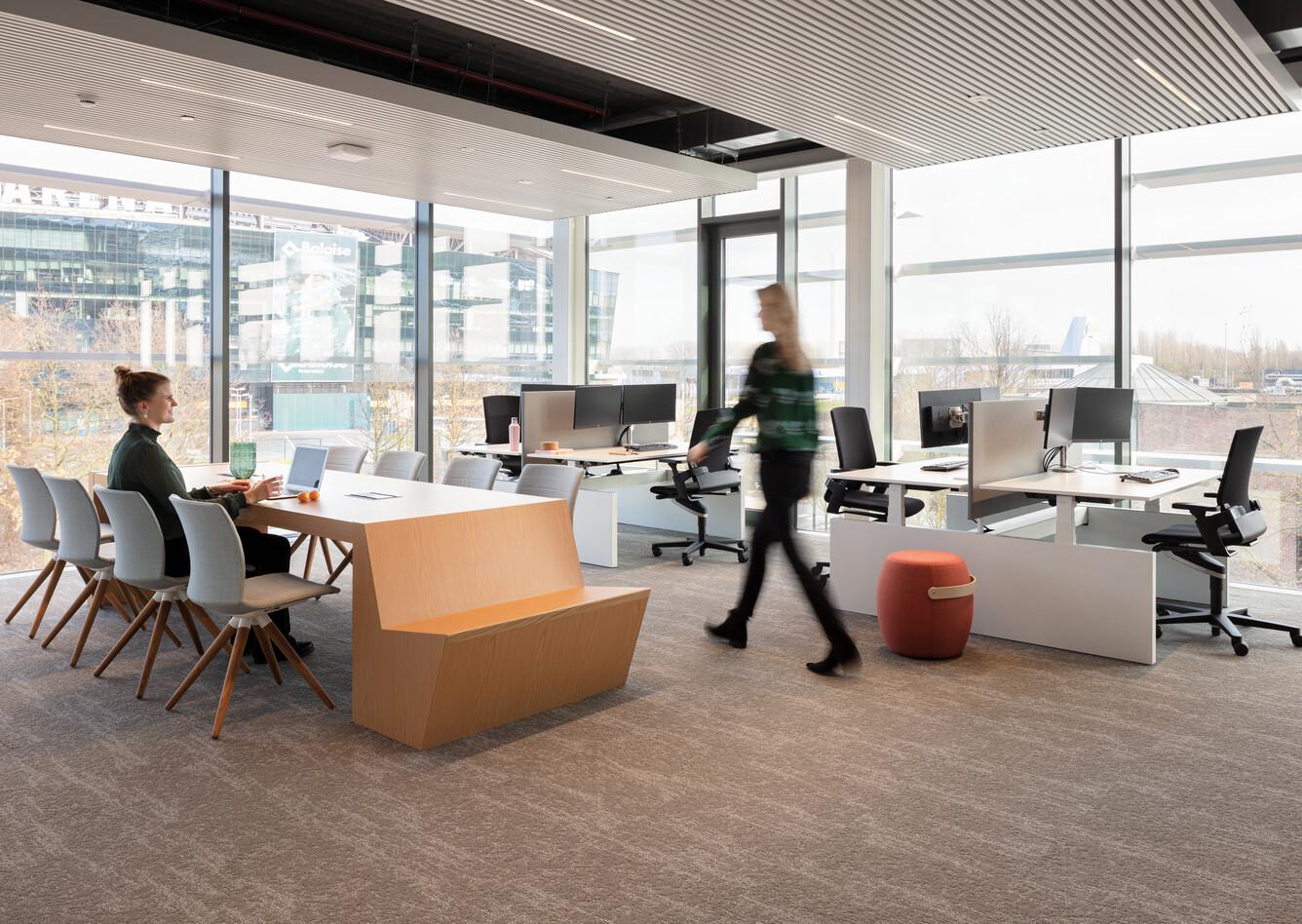 Royal Ahrend office project Vandemoortele in Gent 06