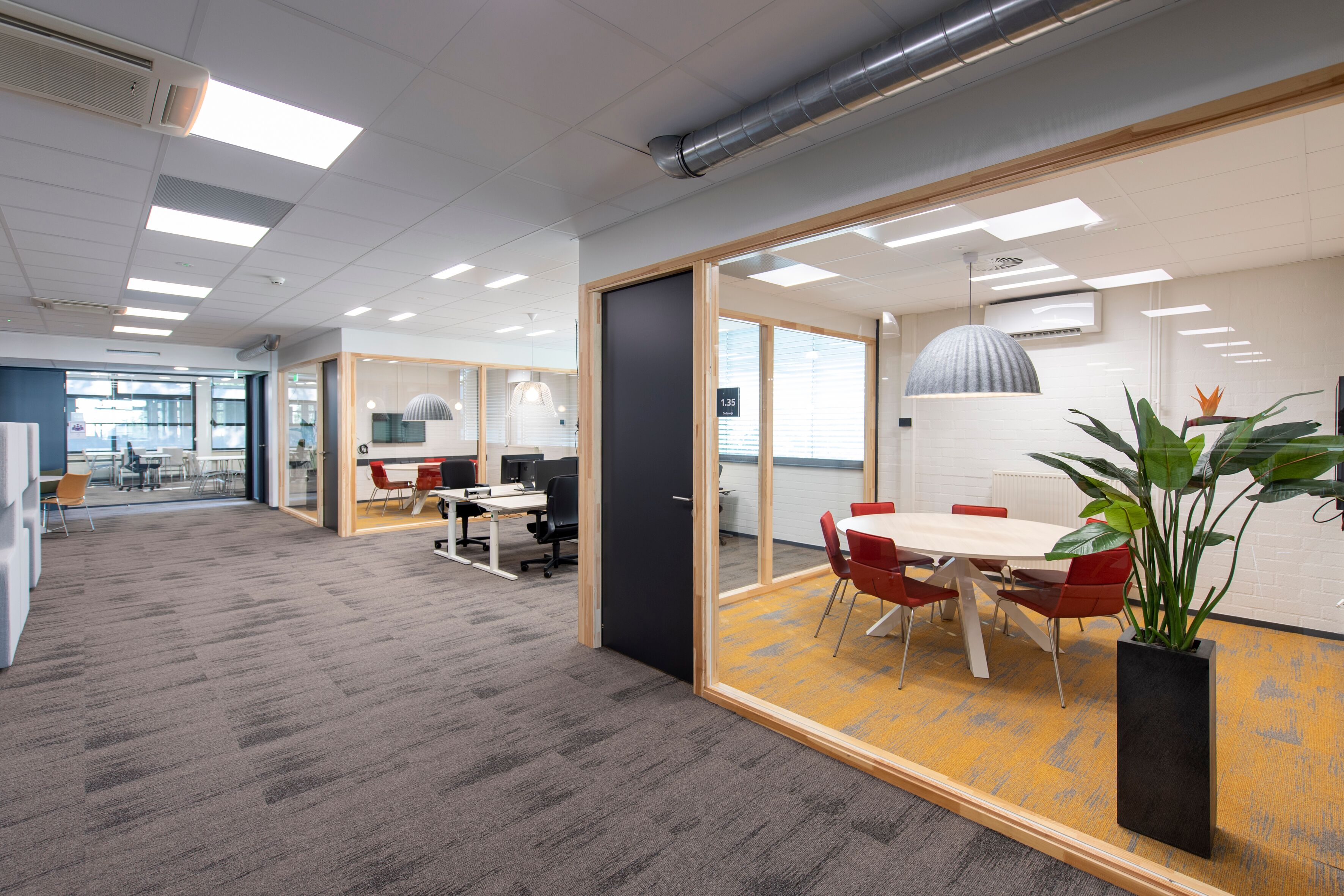Gispen education project interior view of Avans Fontys Legal College in Tilburg BDF4706
