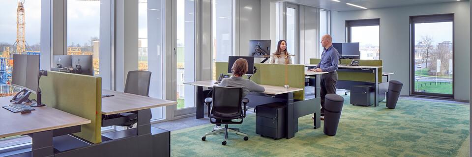 Gispen office project Van der Spek in Vianen RT0048