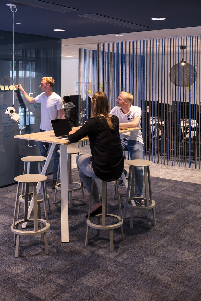 Royal Ahrend office project Aegon in Leeuwarden 08A