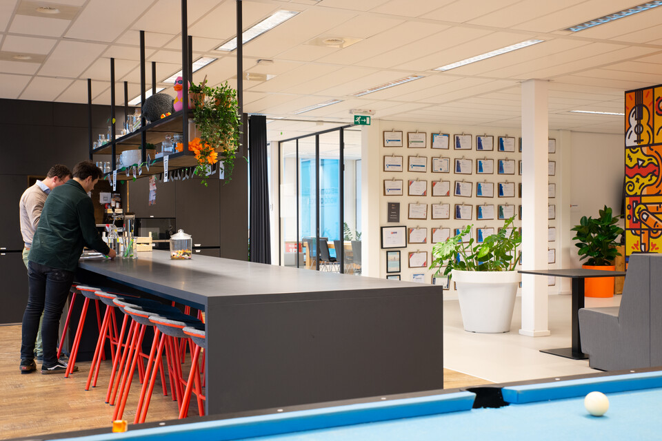 Gispen office project Incentro in Utrecht CVDB5595