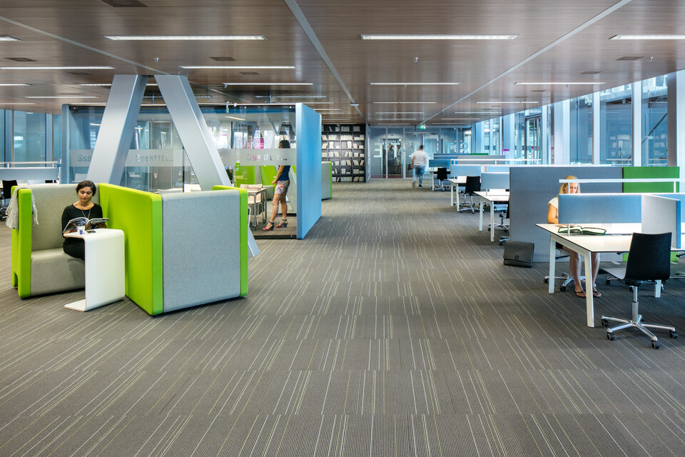 Royal Ahrend education project Inholland university in Rotterdam 02