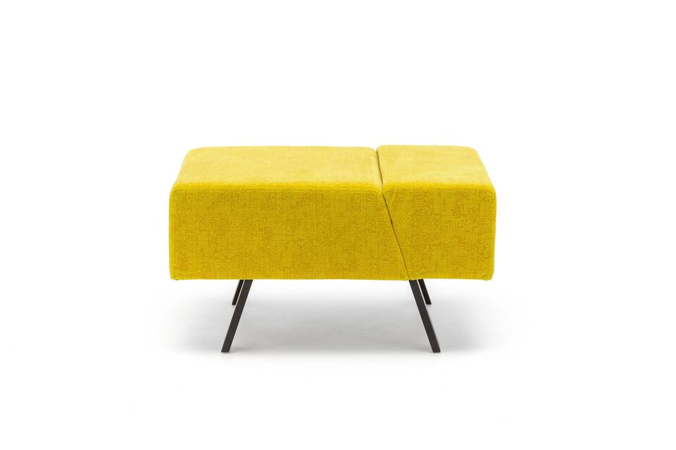 Gispen Sett pouf in matrix 452 front view