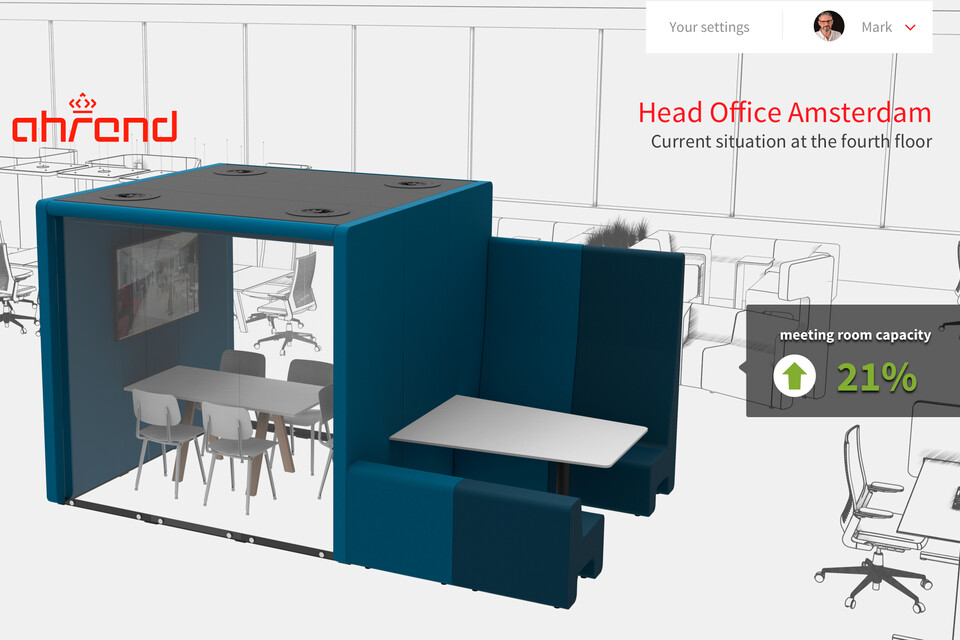 EN Ahrend Smart office easily swap products screencapture
