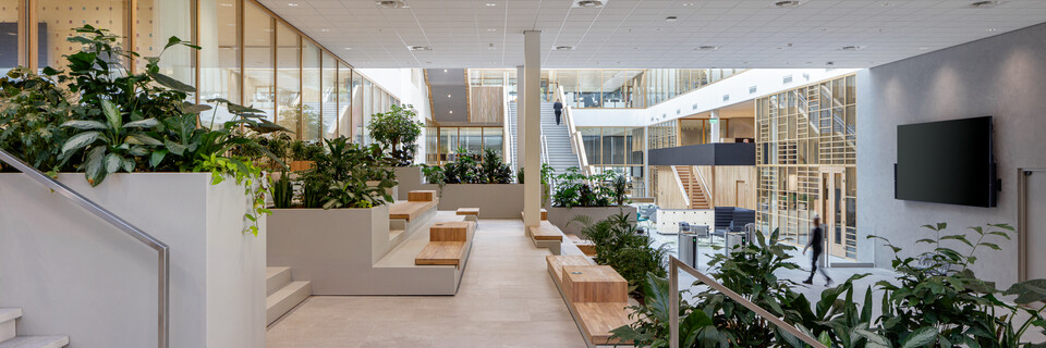 Royal Ahrend office project Unilever in Wageningen SP6