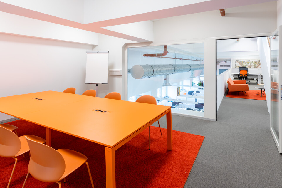 Gispen office project Utrecht Library in Utrecht 00A4283