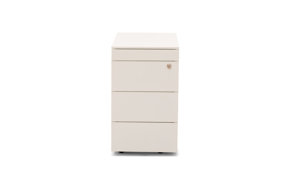 Royal Ahrend Pedestal 3102 in white front view