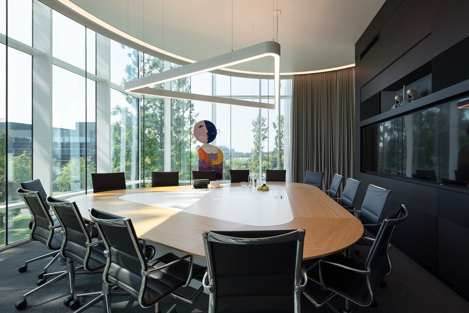 Royal Ahrend office project Genmab in Utrecht SP06