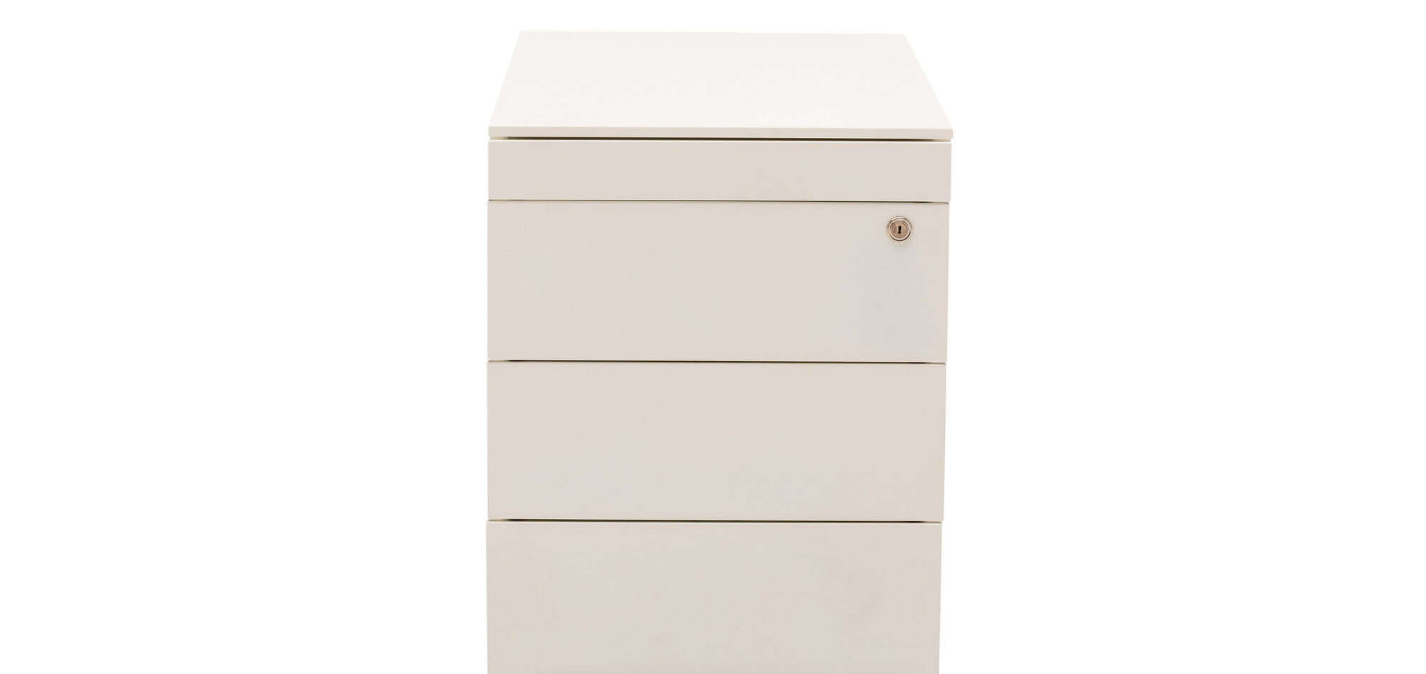 Royal Ahrend Pedestal 2202 in white front view