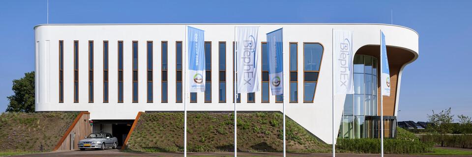Royal Ahrend healthcare project exterior view of Oogcentrum Noordholland in Heerhugowaard SB200602